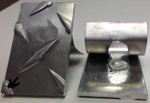 spot welding aluminum alloy diamond plate